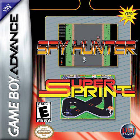 Spy Hunter / Super Sprint - Game Boy Advance [USED]
