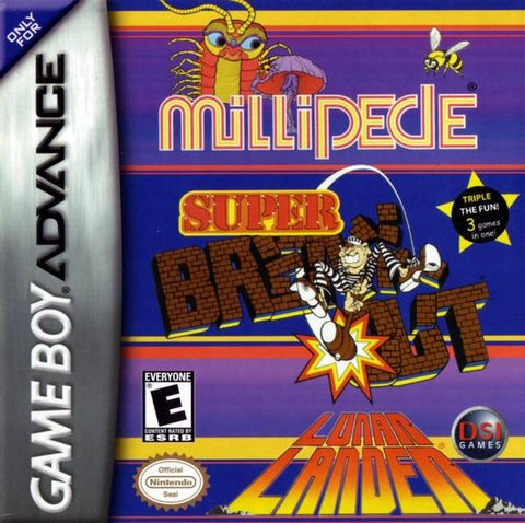Millipede / Super Breakout / Lunar Lander - Game Boy Advance [USED]