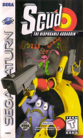 Scud: The Disposable Assassin - SEGA Saturn [USED]