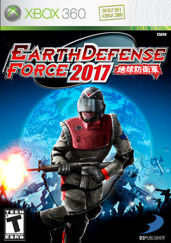 Earth Defense Force 2017 - Xbox 360