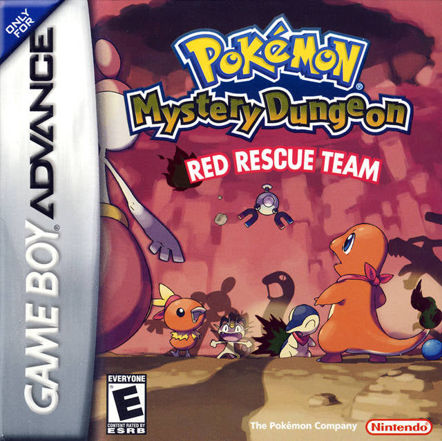Pokemon Mystery Dungeon: Red Rescue Team - Game Boy Advance [NEW]