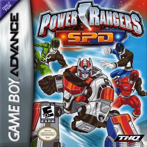 Power Rangers S.P.D. - Game Boy Advance [USED]