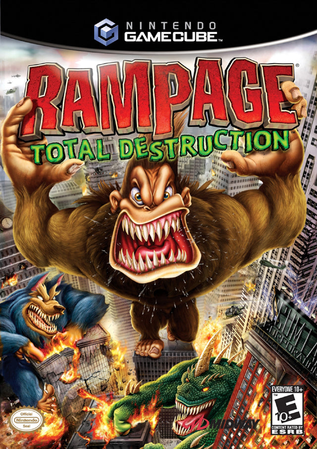 Rampage: Total Destruction - GameCube