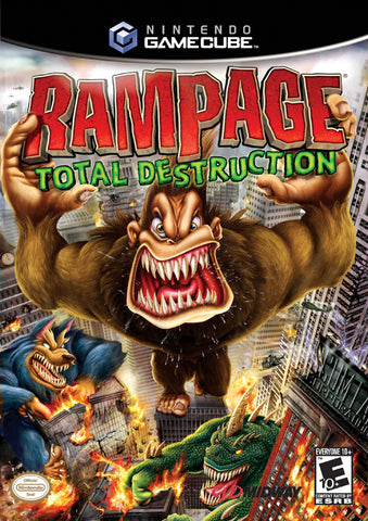 Rampage: Total Destruction - GameCube [USED]