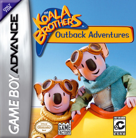 The Koala Brothers: Outback Adventures - Game Boy Advance [USED]