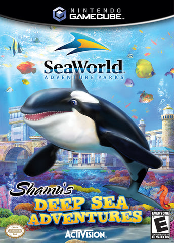 Sea World: Shamu's Deep Sea Adventures - GameCube [USED]