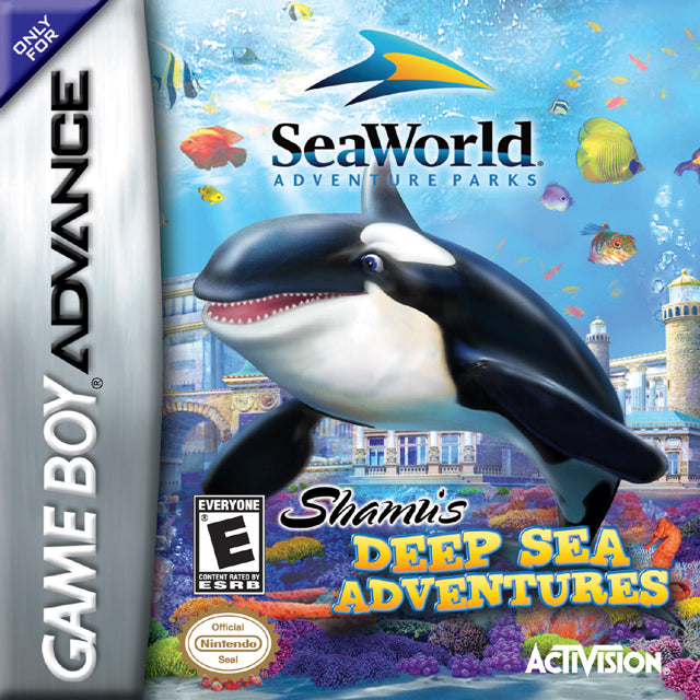 Sea World Adventure Parks: Shamu's Deep Sea Adventures - Game Boy Advance