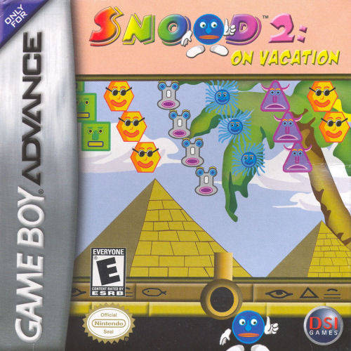 Snood 2: On Vacation - Game Boy Advance