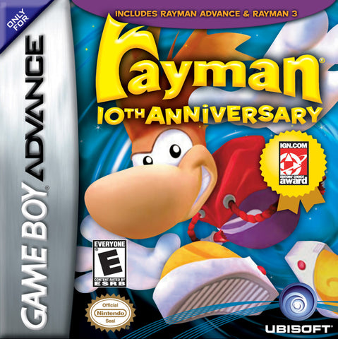Rayman: 10th Anniversary - Game Boy Advance [USED]