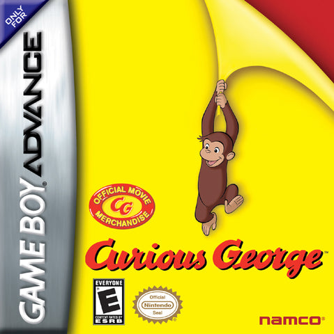 Curious George - Game Boy Advance (A-AVG, 2006, US )