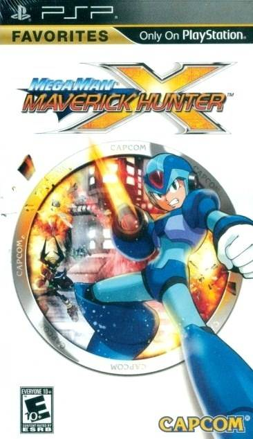 Mega Man Maverick Hunter X (Favorites) - PSP