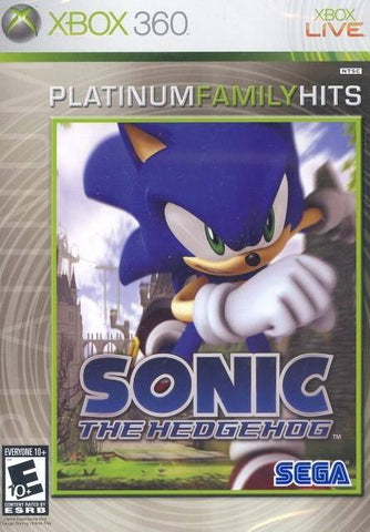 Sonic the Hedgehog (Platinum Family Hits) - Xbox 360