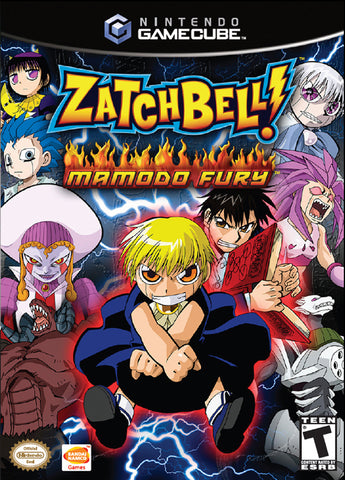 Zatch Bell! Mamodo Fury - GameCube [USED]