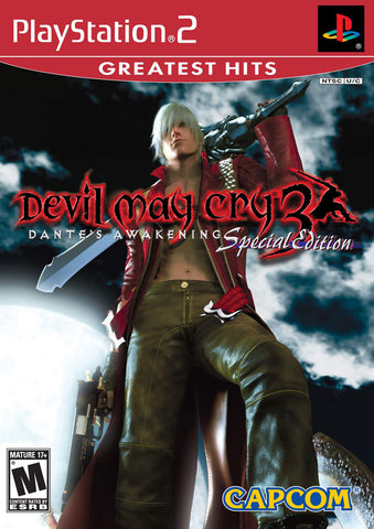 Devil May Cry 3: Dante's Awakening Special Edition - PlayStation 2