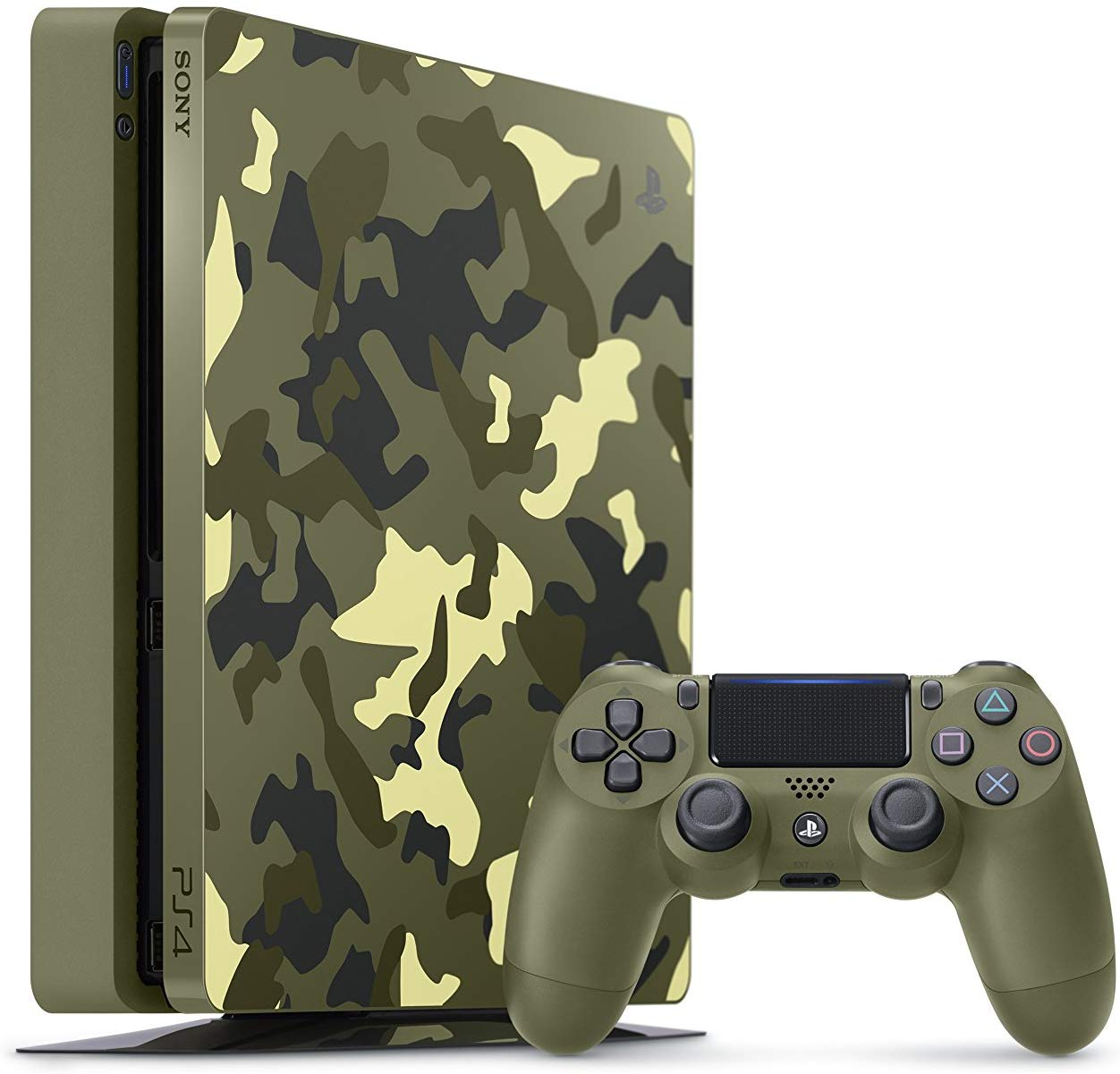 Sony PlayStation 4 Slim 1TB Limited Edition Console - Call of Duty WWII Bundle