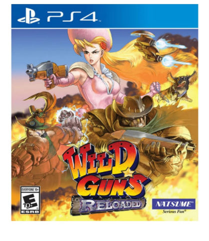 Wild Guns Reloaded - PlayStation 4