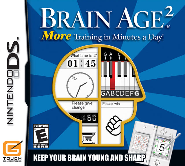 Brain Age 2: More Training in Minutes a Day - Nintendo DS