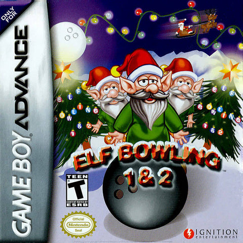 Elf Bowling 1 & 2 - Game Boy Advance [USED]