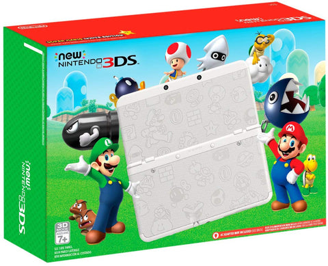 Nintendo New 3DS - Super Mario White Edition