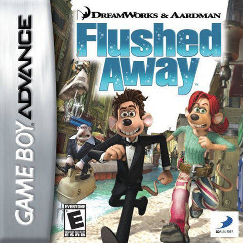 DreamWorks & Aardman Flushed Away - Game Boy Advance [USED]