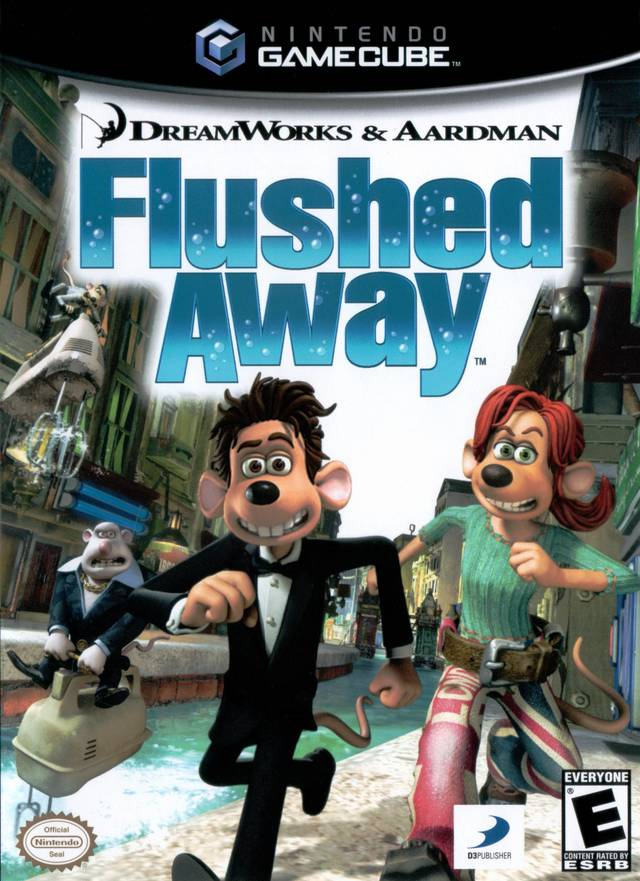 DreamWorks & Aardman Flushed Away - GameCube [NEW]