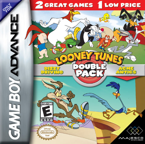 Looney Tunes: Double Pack - Dizzy Driving / Acme Antics - Game Boy Advance (TAB, 2005, US )
