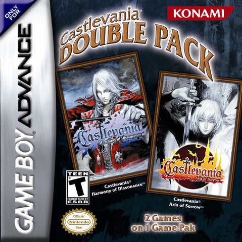Castlevania Double Pack - Game Boy Advance [USED]