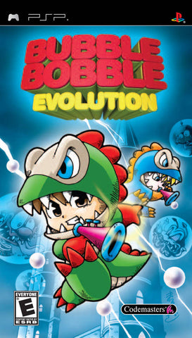 Bubble Bobble Evolution (Fixed Reprint) - PSP