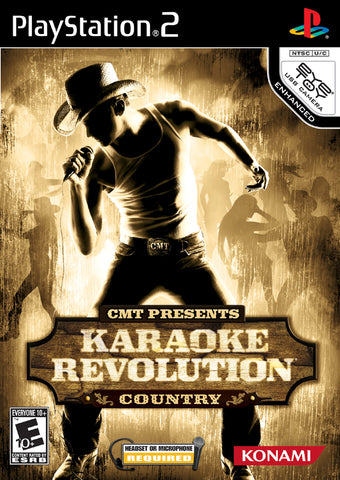 CMT Presents: Karaoke Revolution Country - PlayStation 2