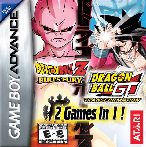 Dragonball Z Buu's Fury and Dragonball GT Transformation Double Pack