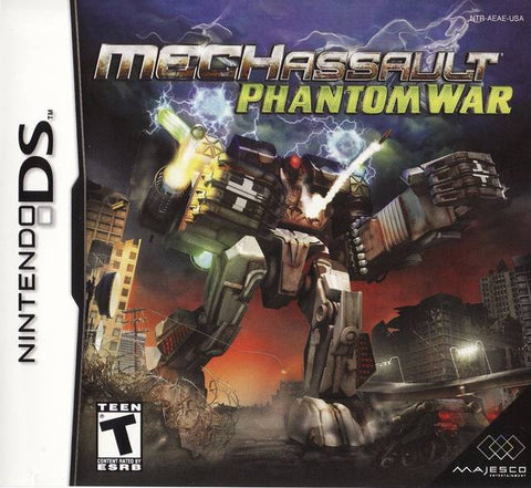 MechAssault: Phantom War - Nintendo DS