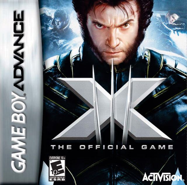 X-Men: The Official Game - Game Boy Advance