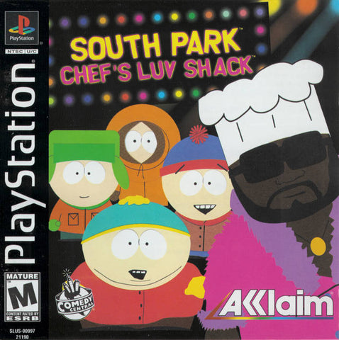 South Park: Chef's Luv Shack - PlayStation