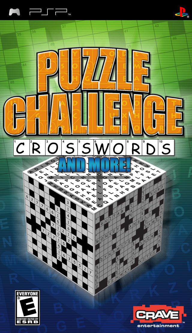 Puzzle Challenge: Crosswords And More! - PSP