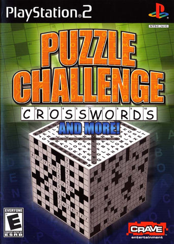 Puzzle Challenge: Crosswords And More! - PlayStation 2