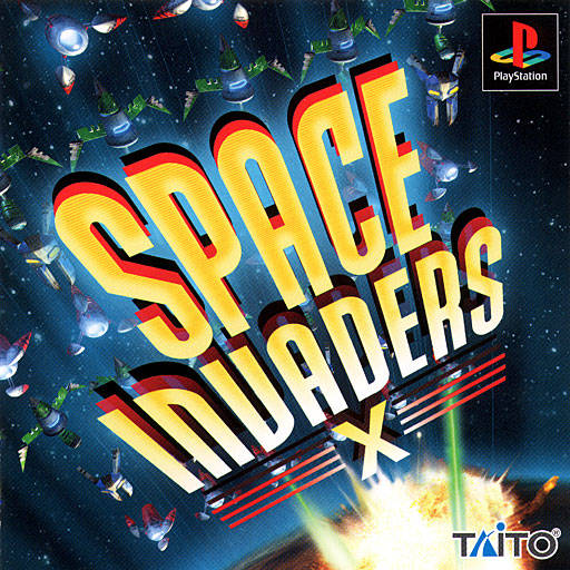 Space Invaders X - PlayStation (Japan)