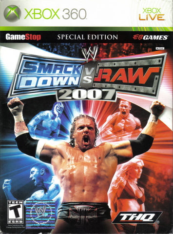 WWE SmackDown vs. Raw 2007 (Special Edition) - Xbox 360