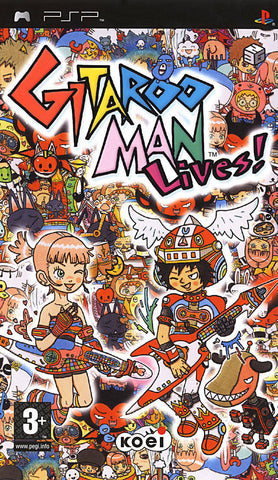 Gitaroo Man Lives! ( UK Version )- PSP