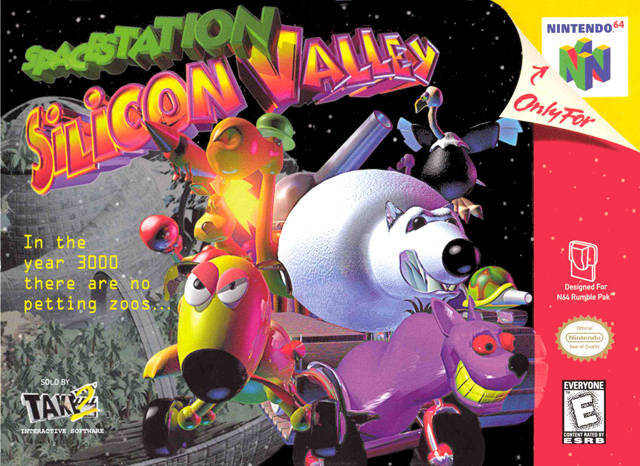 Space Station Silicon Valley - Nintendo 64