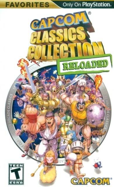 Capcom Classics Collection Reloaded (Favorites) - PSP