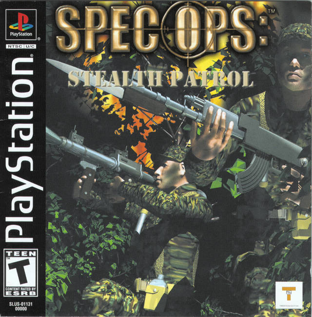Spec Ops: Stealth Patrol - PlayStation