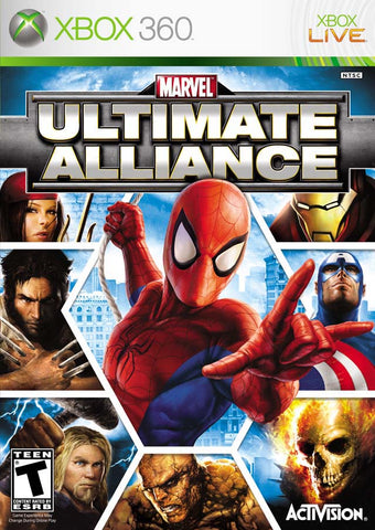Marvel: Ultimate Alliance - Xbox 360
