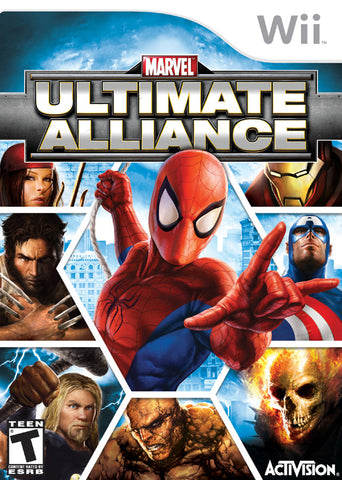 Marvel: Ultimate Alliance - Nintendo Wii [USED]
