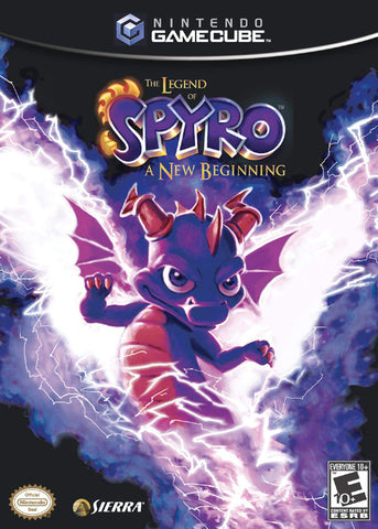 The Legend of Spyro: A New Beginning - GameCube [USED]