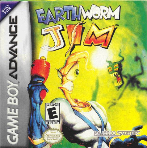 Earthworm Jim - Game Boy Advance [USED]