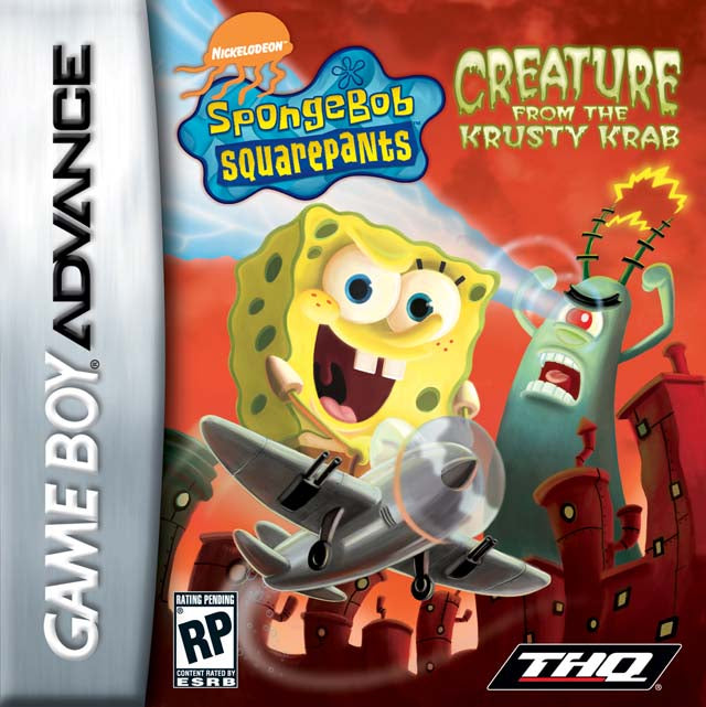SpongeBob SquarePants: Creature from the Krusty Krab - Game Boy Advance [NEW]