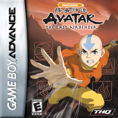 Avatar: The Last Airbender - Game Boy Advance (A-AVG, 2006, US )
