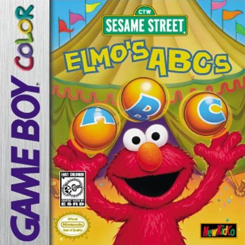 Sesame Street: Elmo's ABCs - Game Boy Color