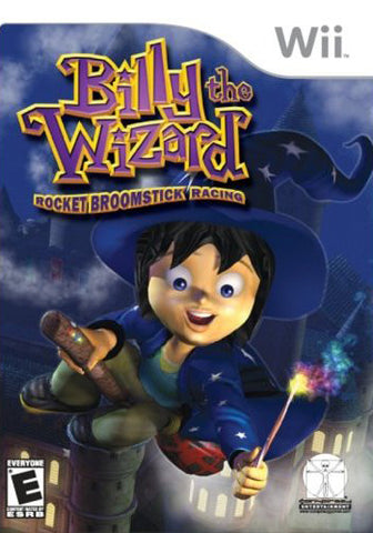 Billy the Wizard: Rocket Broomstick Racing - Nintendo Wii [NEW]