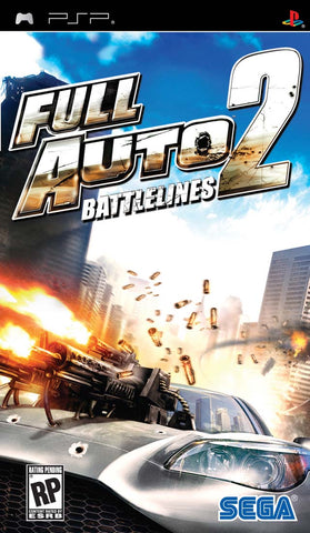 Full Auto 2: Battlelines - PSP